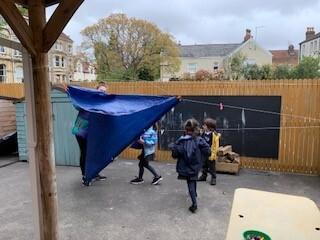 tent making
