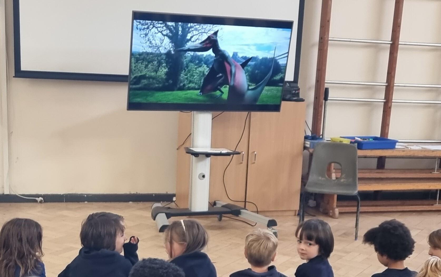 Reception Dinosaurs Assembly